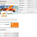 Huawei Ascend P8 Benchmark 3DMark Ice Strom Unlimited 12