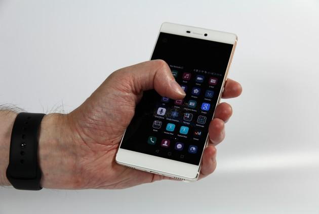 Huawei Ascend P8 Einhandbedienung