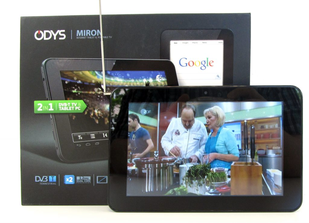 7 zoll tablet mit dvb empf nger. Black Bedroom Furniture Sets. Home Design Ideas