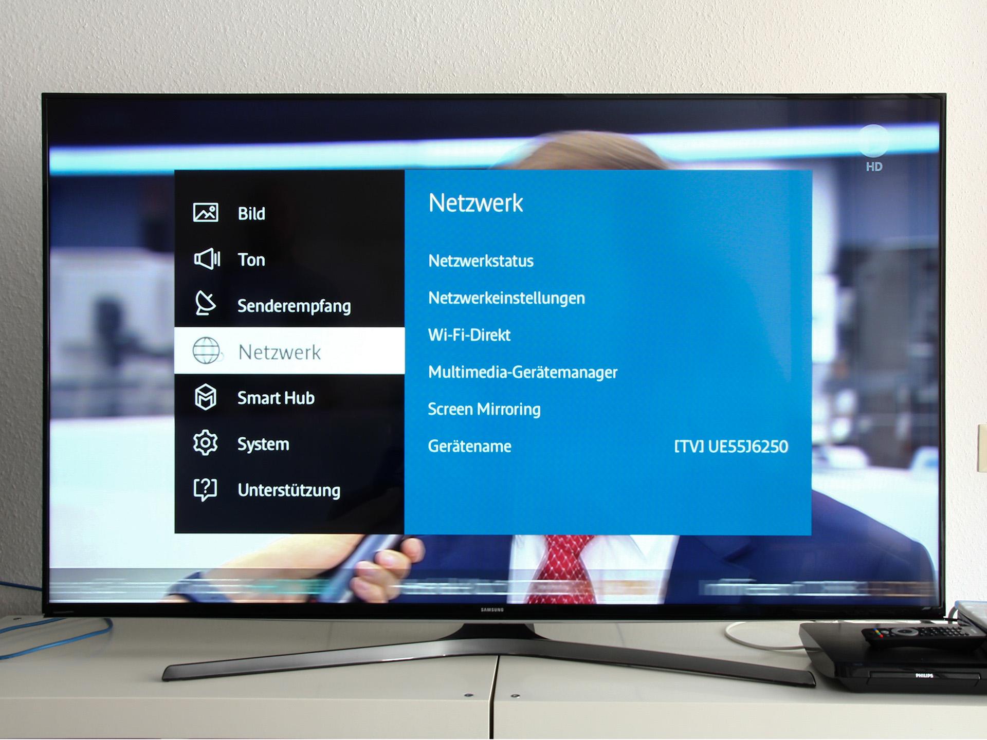 samsung smart tv 55 bildschirm an 5. Black Bedroom Furniture Sets. Home Design Ideas
