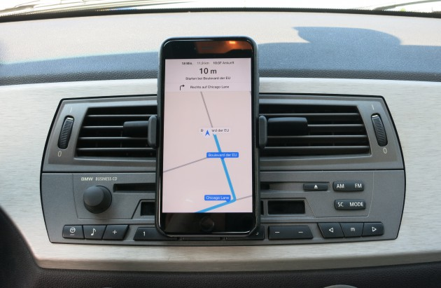 Smartphone Navigation Apples Karten iPhone 6