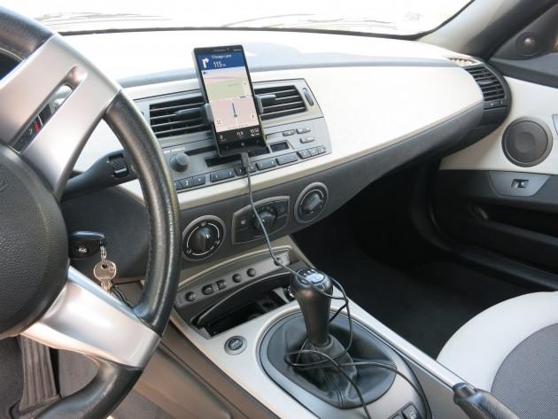 Smartphone Navigation Kabelsalat