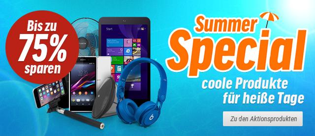 Summer Special: Coole Produkte für heiße Tage