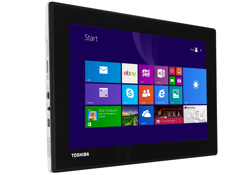 handliches 2 in 1 device von toshiba 8 9 zoll tablet mit ips panel. Black Bedroom Furniture Sets. Home Design Ideas