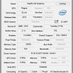 GPU Z: Angaben zur Grafik