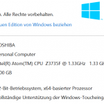Windows 8.1 mit Bing
