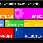 QPAD 8K Software Startscreen