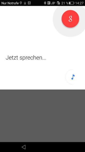 Google Now Musikerkennung