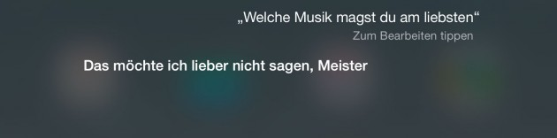 Apple Siri  welchemusik