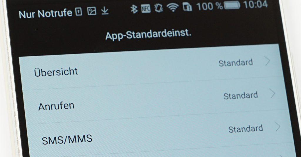 Standard-Apps unter Android 5.0 Lollipop festlegen