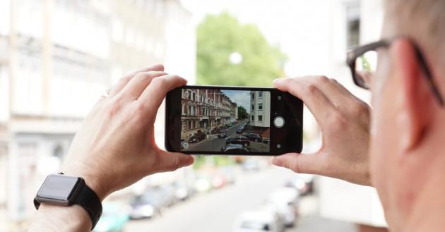 Aufmacher Gestaltung Smartphone-Fotos