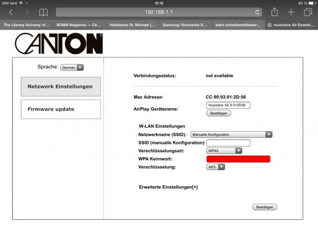 Canton Screenshot