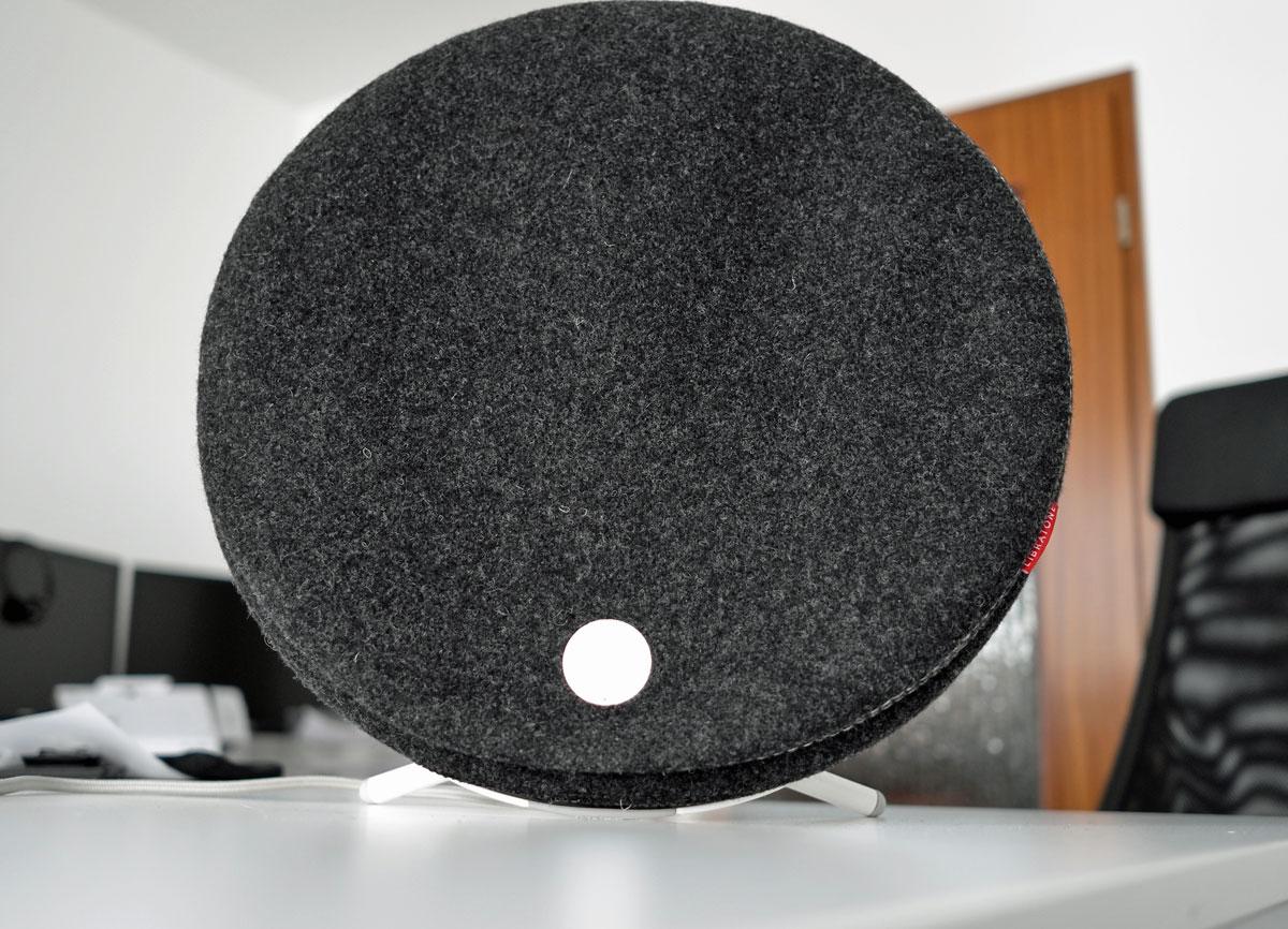 test airplay lautsprecher libratone loop mkii. Black Bedroom Furniture Sets. Home Design Ideas