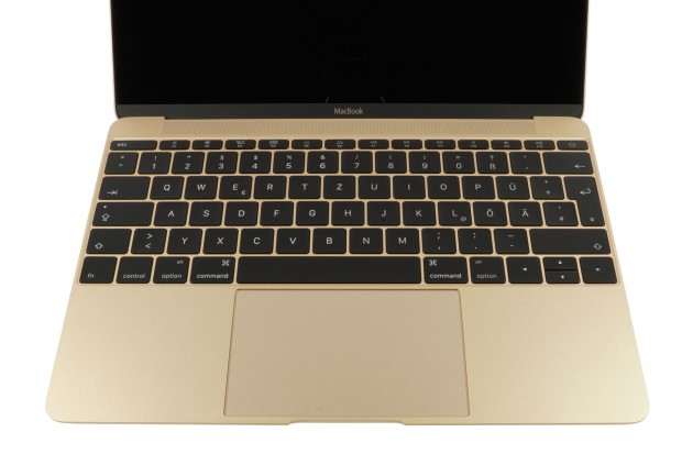 MacBook Gold Tastatur
