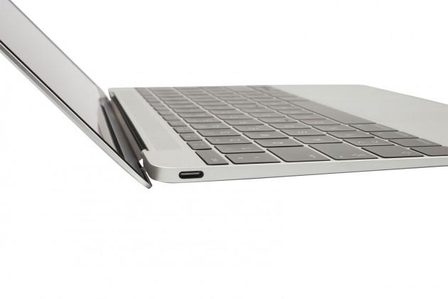 MacBook Silver USB Anschluss