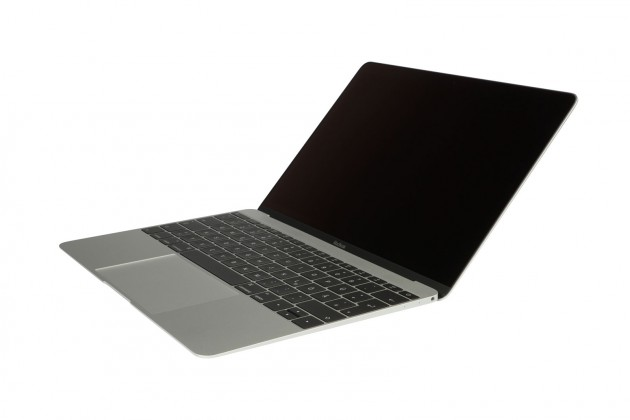 MacBook Silver schraeg