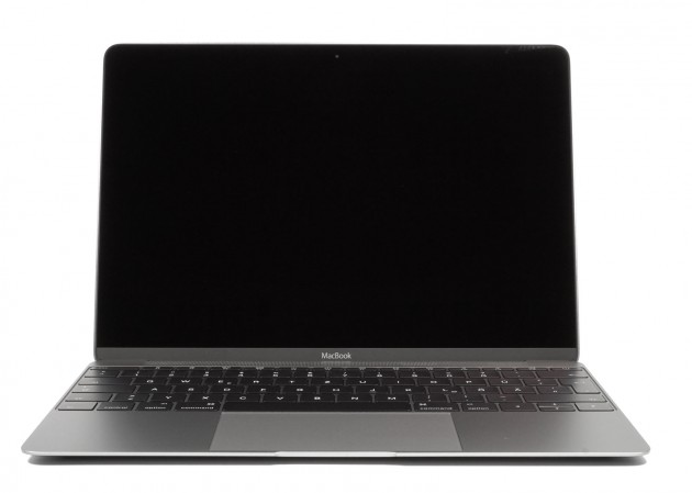 MacBook Spacegrey offen