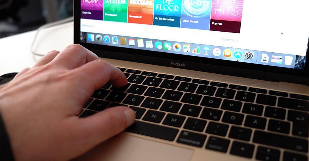 Test: Apple MacBook 12″ und die goldene Drossel