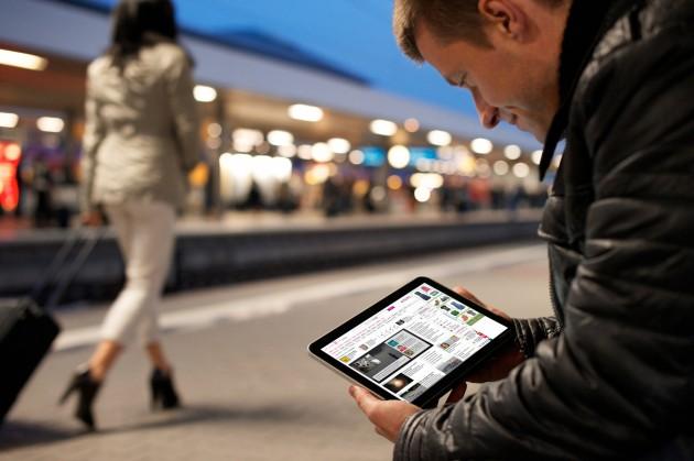 Mobiles Internet Ausland Tablet Bahnhof