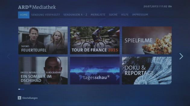 Samsung Tizen TV ARD Mediathek