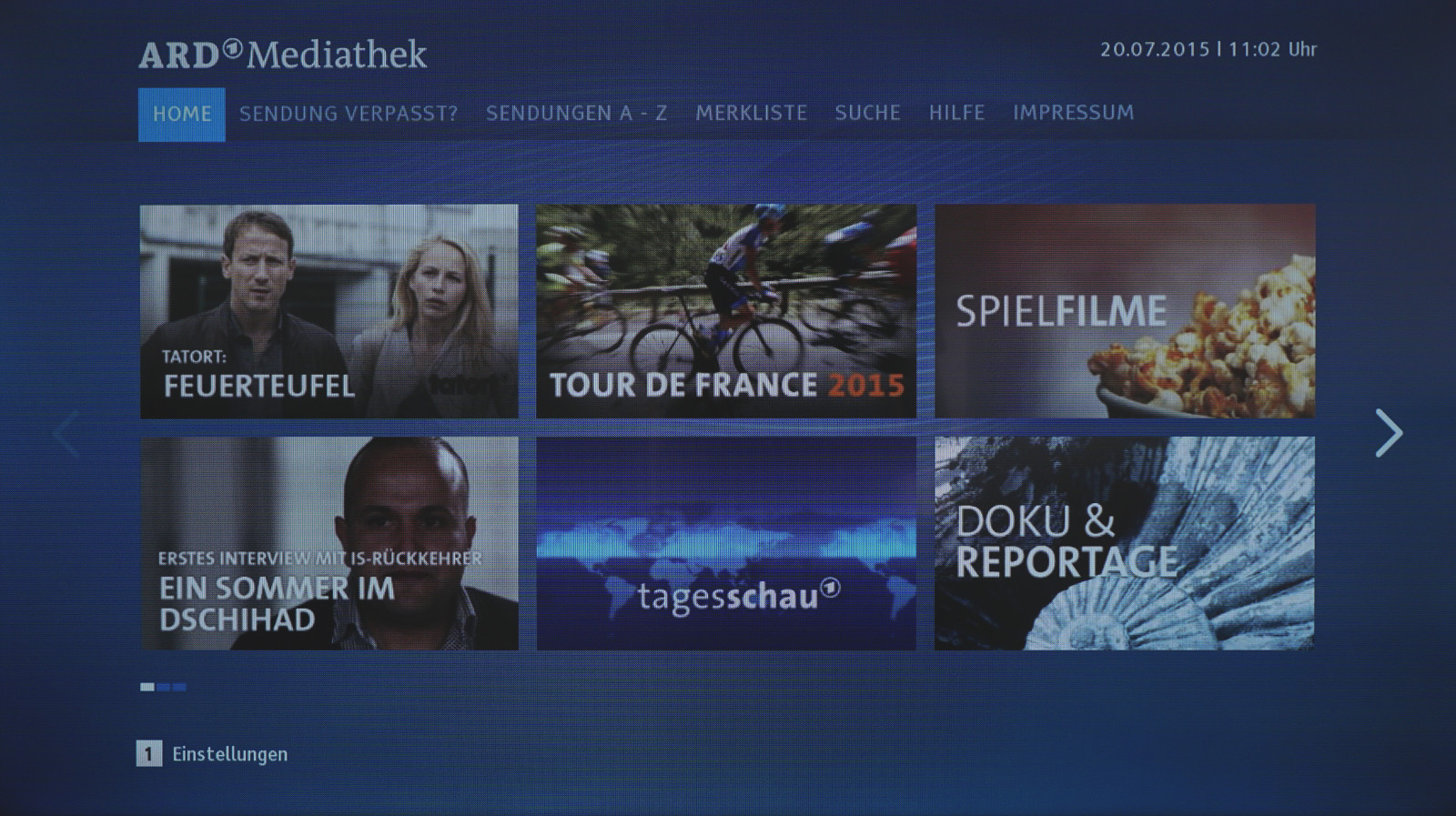 Samsungs Smart-TV Betriebssystem Tizen im Test