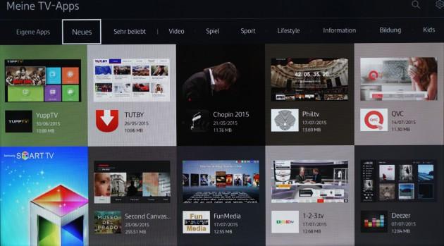 Samsung Tizen TV App Store Neues