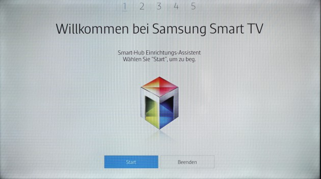 Samsung Tizen TV einrichten