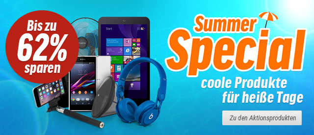 Das Summer Special geht weiter – 2. Woche mit noch heißeren Rabatten und Preisen