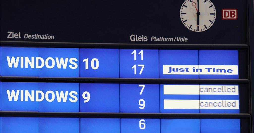 Windows 10 Fahrplan für die kommenden Monate