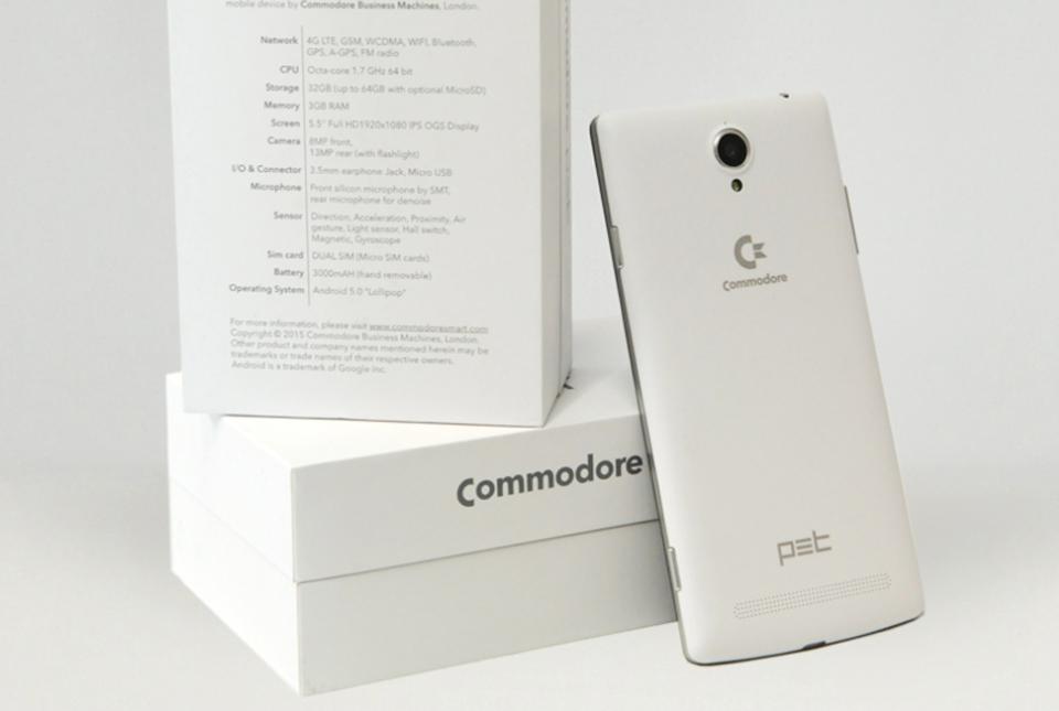 """""""Commodore"""" bringt 5,5 Zoll Mittelklasse-Smartphone nach Deutschland"""