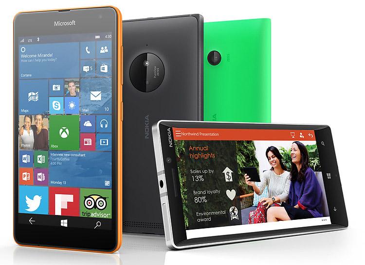 Microsoft gibt bekannt, welche 10 Lumia Smartphones als erstes das Windows 10 Update erhalten