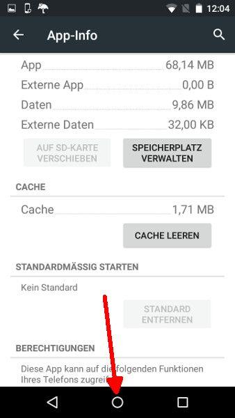 Android Launcher Schritt 5 Homebutton drücken