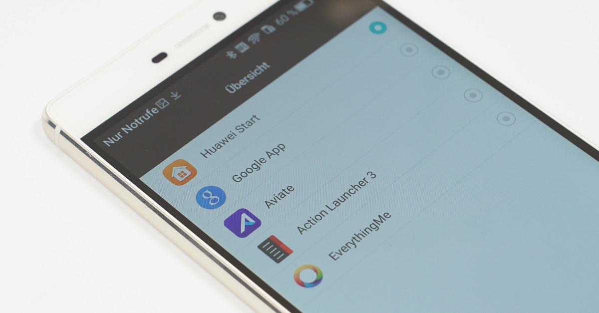 Alternative Launcher unter Android installieren und wechseln