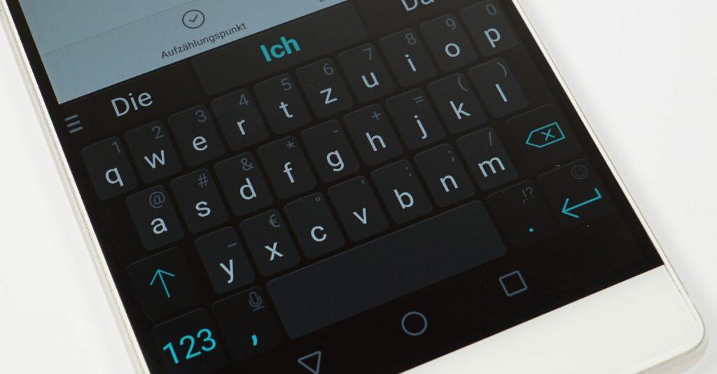 Kostenfreie Tastatur-Alternativen für Android Smartphones