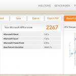 HP Spectre x360 - PC Mark 8 - Application [Win 8.1]