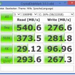 HP Spectre x360 - Crystal Disk Mark [Win 8.1]