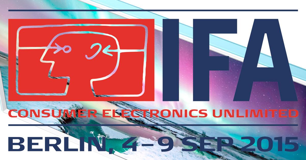 IFA 2015: Technikfeuerwerk mit AVM, LG, Samsung & Co.