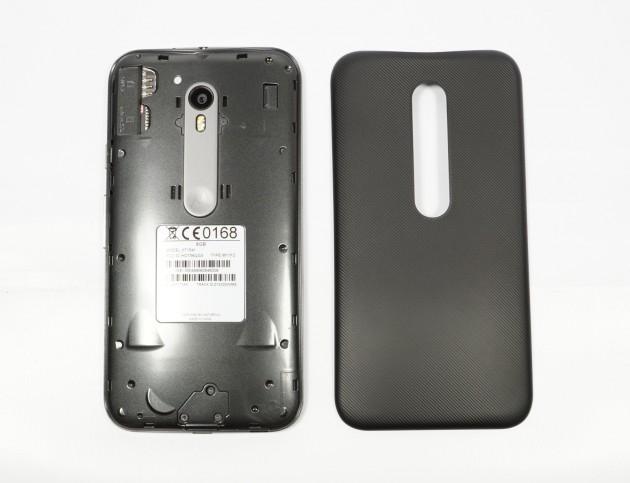 Motorola Moto G3 Rueckseite offen