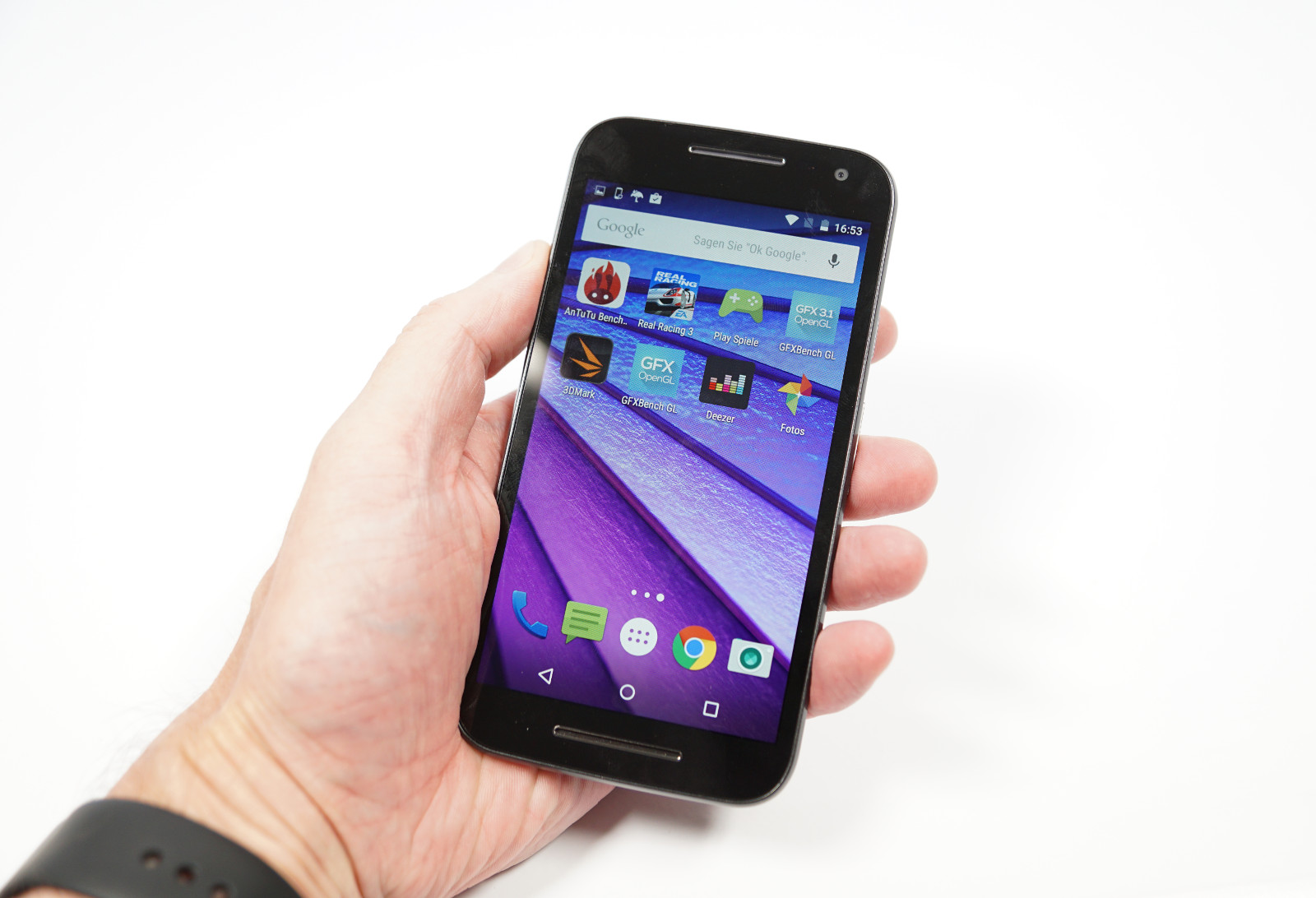 Test Motorola Moto G (2015, 3. Generation)