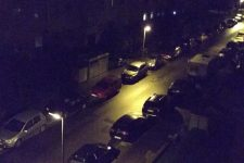 Nachtaufnahme Motorola Moto G3