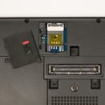 SIM-Slot und Dockingport