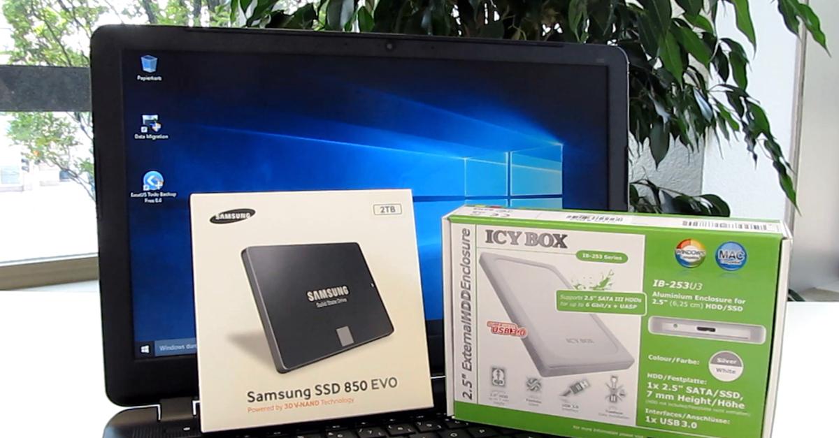 Praxistipp: So einfach geht´s – Festplatte im Notebook gegen SSD tauschen