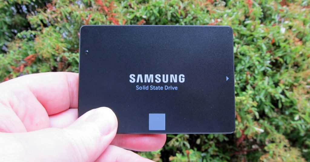 Samsung SSD 850 Evo mit 4TB Speicher ab sofort erhältlich