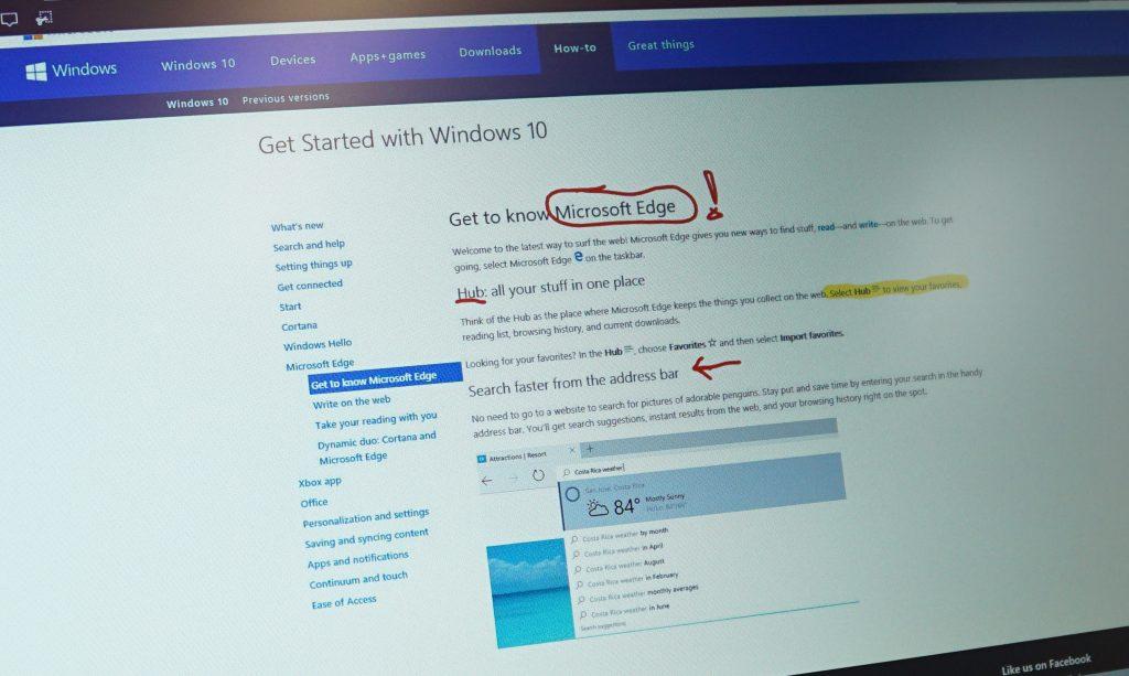Volle Kante: Microsofts Windows-10-Browser Edge im Test