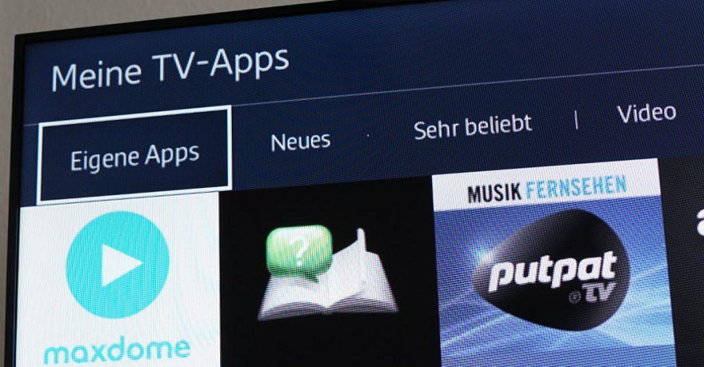 Nützliche und unterhaltsame Apps für Tizen-TVs