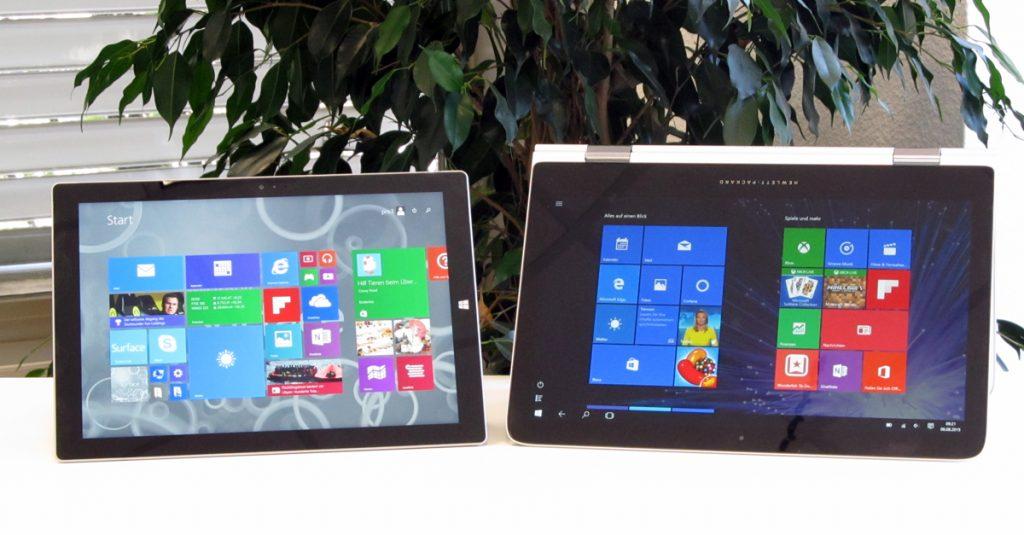 So könnt Ihr Euer Microsoft Surface oder HP Spectre X360 auf Windows 10 updaten – Teil III