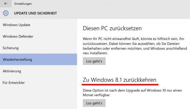 Windows-zurueck-setzten