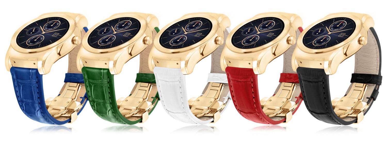 LG zeigt Watch Urbane Luxe aus 23 karätigem Gold