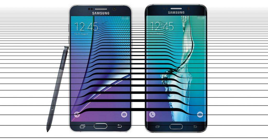 Samsung packt aus: Galaxy Note 5, Galaxy S6 Edge Plus und mehr