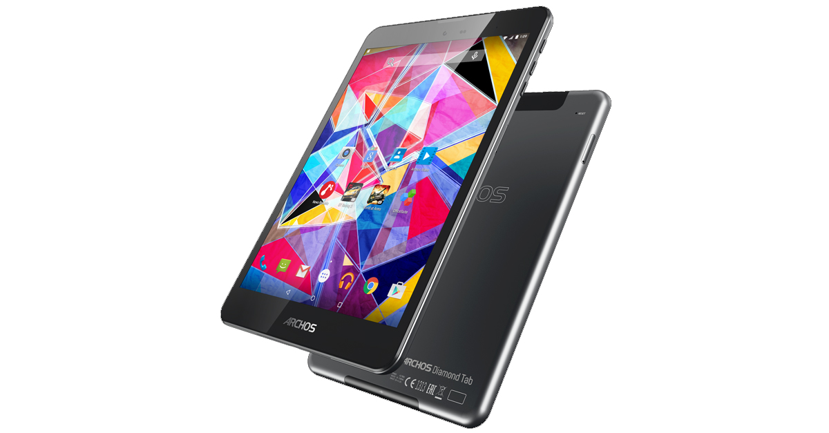 IFA 2015: ARCHOS Diamond Tab – 7,9 Zoll Tablet mit LTE und QXGA-Display